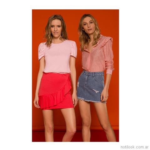 minifaldas Inversa primavera verano 2018
