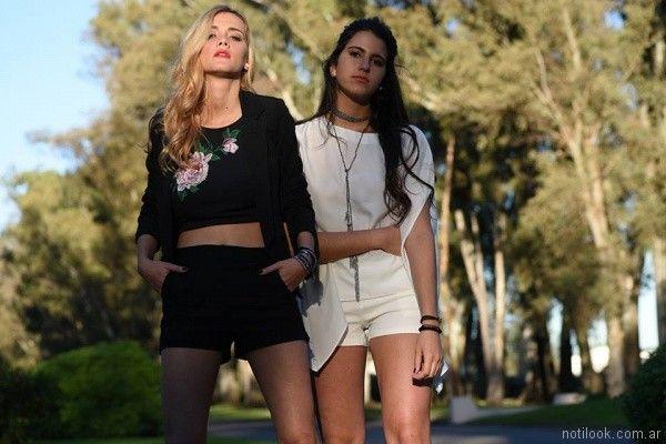 moda urbana juvenil con top wings verano 2018