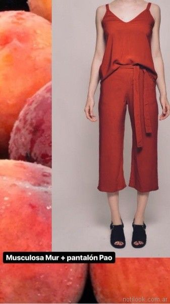 panta cort de lino Clan Issime verano 2018