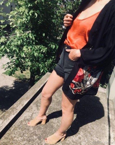 short rustico y kimono Clan Issime verano 2018