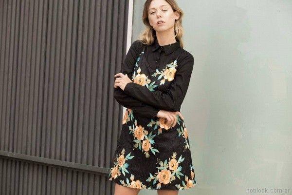 vestido estampado para el dia Uvha verano 2018