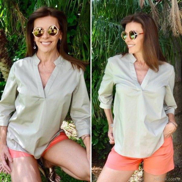 blusa poplin Fabita verano 2018