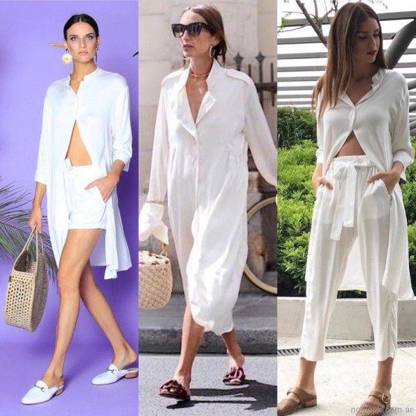 camisa larga estilo tunica w ivana verano 2018