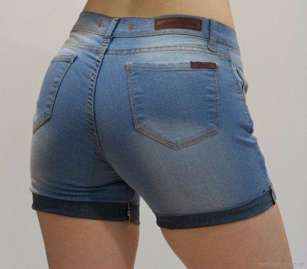 short ruedo invertido Zurah Jeans verano 2018