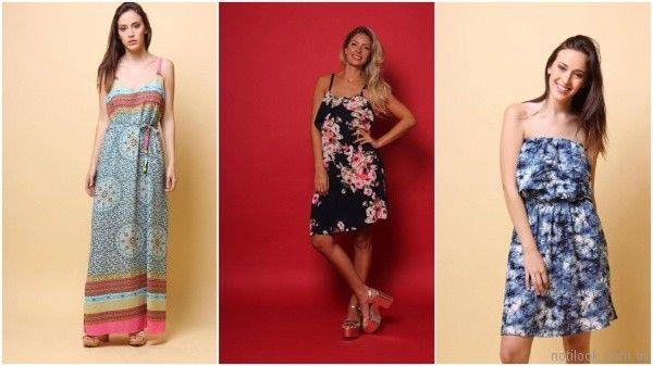 vestidos estampados informales Destino Collecction verano 2018