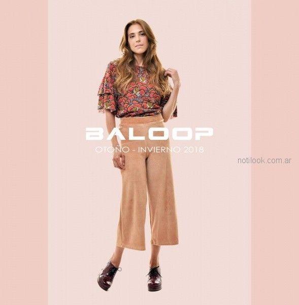 Baloop invierno 2018 - coleccion