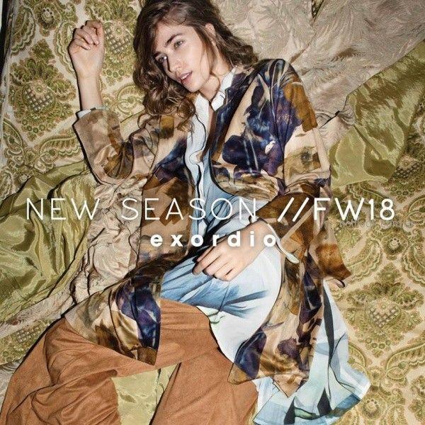 Exordio Kimono estampado invierno 2018-