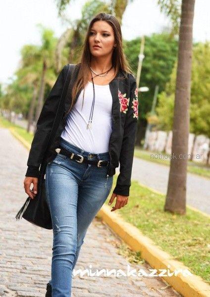 Minnakazzira Jeans otoño invierno 2018