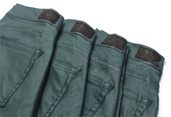 Nahana jeans verde anticipo coleccion invierno 2018