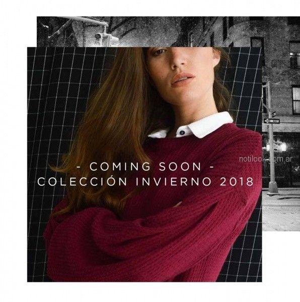 Sweater tejido Zulas invierno 2018