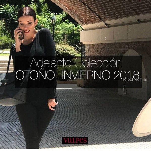 Vulpes indumentaria - adelanto coleccion otoño invierno 2018