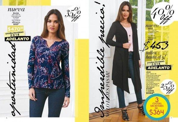 blusa mangas largas estampada Juana bonita otoño invierno 2018
