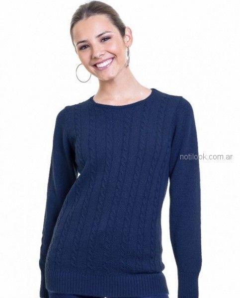 buzo de lana mujer Mauro sergio otoño invierno 2018