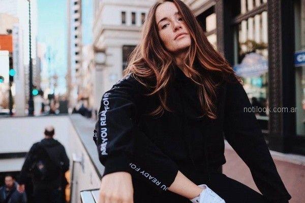 look adolescentes deportivos 47 street otoño invierno 2018
