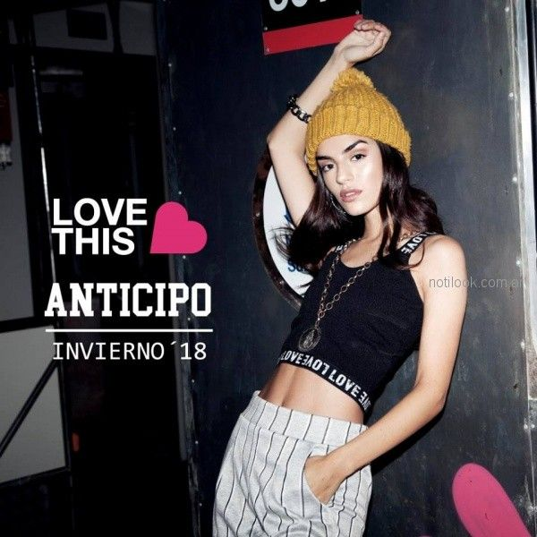 look sporty juvenil Love This invierno 2018