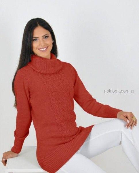 poleron de lana mujer Mauro sergio otoño invierno 2018