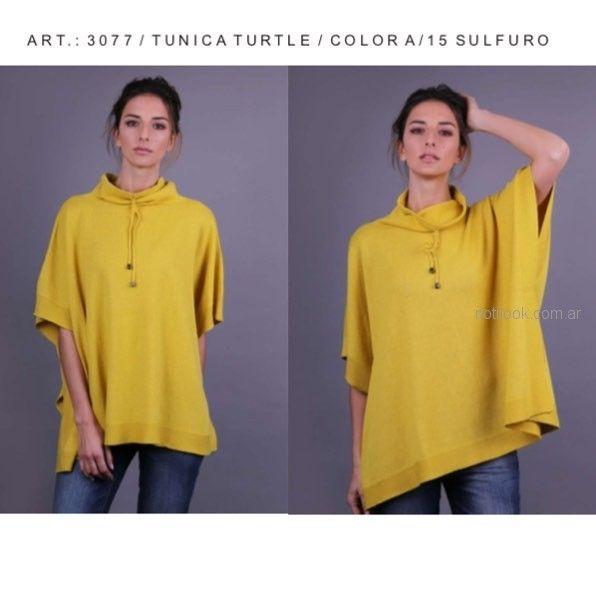remeron tejido amarillo Del Cerro patagonia Sweater otoño invierno 2018