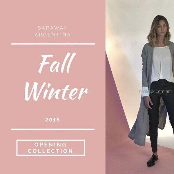 Sarawak moda para mujer invierno 2018