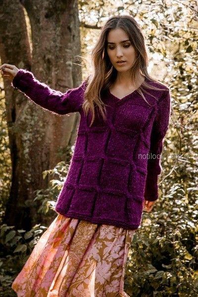 buzo lana abrigado tejido florencia LLompart otoño invierno 2018
