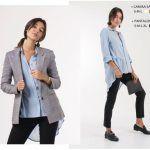 One Mujer – camisas otoño invierno 2018 – Look para el trabajo
