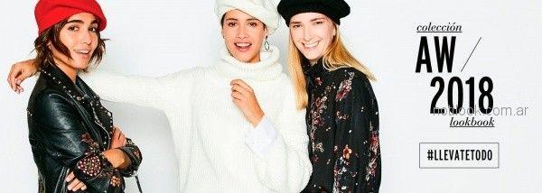 campera de cuero con tachas Ver mujeres apasionadas otoño invierno 2018