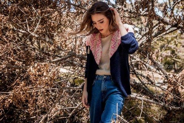 cardigan de lana tejido florencia LLompart otoño invierno 2018