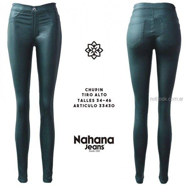 chupin engomado bengalina elastizado Nahana jeans otoño invierno 2018