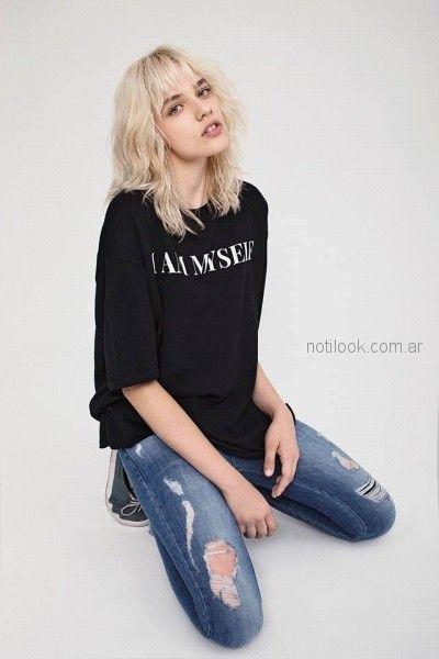 jeans mujer inedita otoño invierno 2018