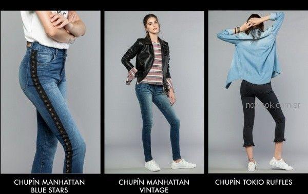look casual con jeans mujer Cuesta blanca otoño invierno 2018