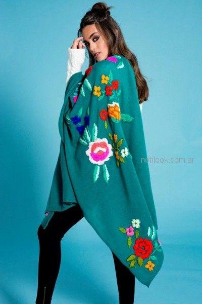 manta tejida con boordado juvenil Doll Store otoño invierno 2018