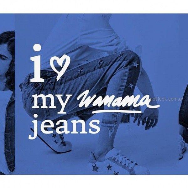 pantalon chupin con apliques mujer Wanama otoño invierno 2018