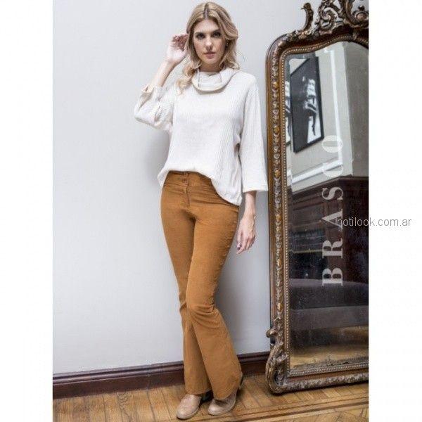 pantalon de corderoy oxford Brasco otoño invierno 2018