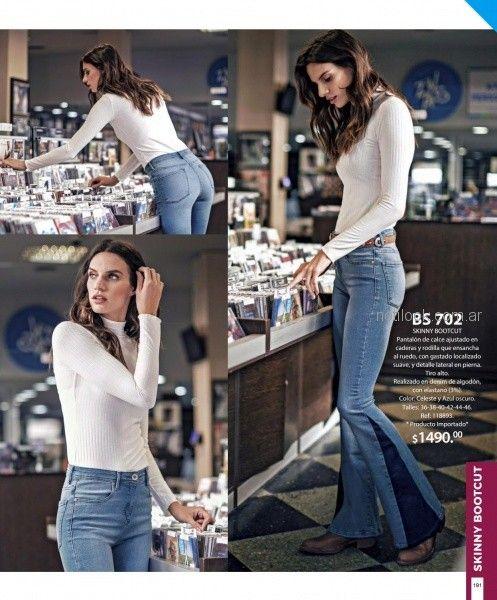 polera morley y jeans oxford martina di trento otoño invierno 2018