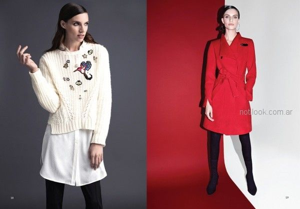 9da60505fb726 ropa urbana elegante para señora invierno 2018 Rafael Garofalo ...