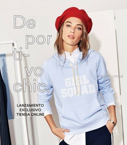 sporty chic - look mujer Yagmour invierno 2018