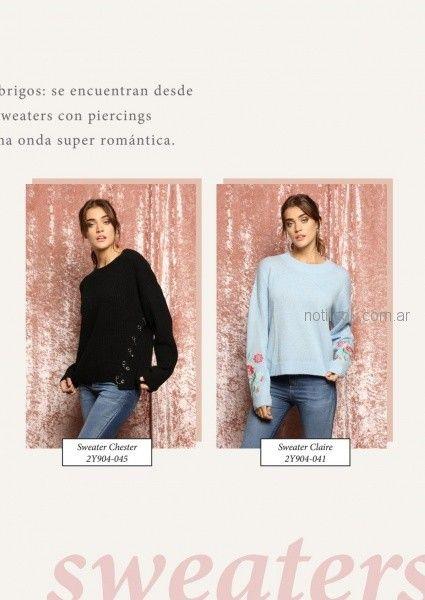 sweater juveniles tejidos juvenil peuque otoño invierno 2018
