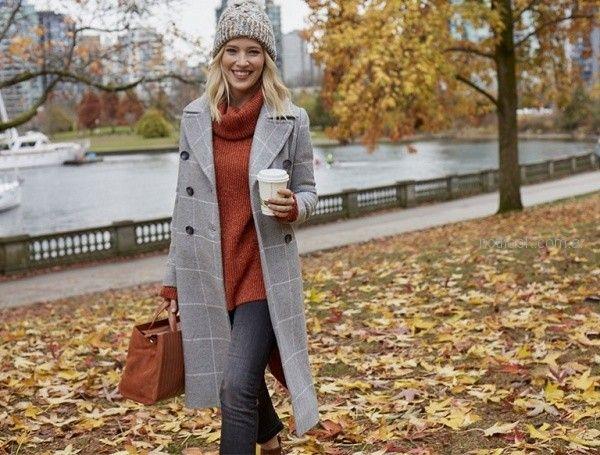 tapado a cuadros vitamita otoño invierno 2018