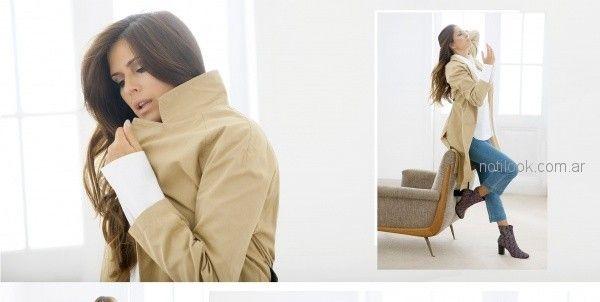 tapados camisas y jeans para señoras teresa calandra otoño invierno 2018