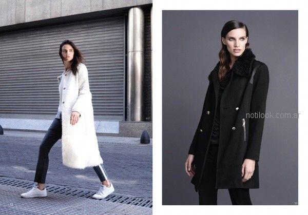 df3a8a33fd7 tapados largos para señoras invierno 2018 Rafael Garofalo – Moda ...