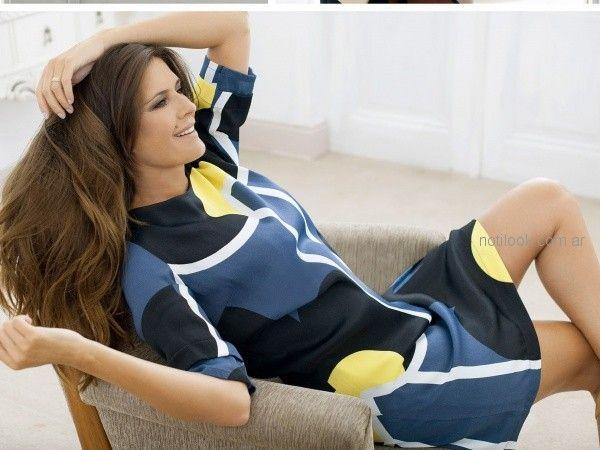 vestidos cortos con mangas para el dia teresa calandra otoño invierno 2018