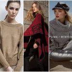 Abrigos Tejidos invierno 2018 – Sweater, sacos y tapados