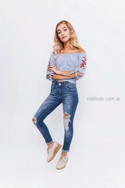 blusas de moda para adolescentes tuboos invierno 2018