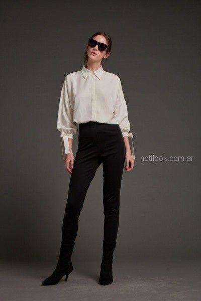 camisas blancas para mujer Awada otoño invierno 2018