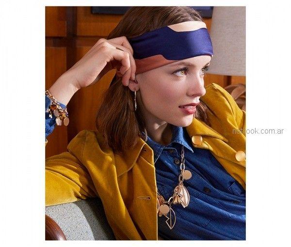 collar cadena con diges dorados invierno 2018 - Isadora