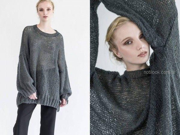 julia De Jong - sweater tejidos oversize invierno 2018