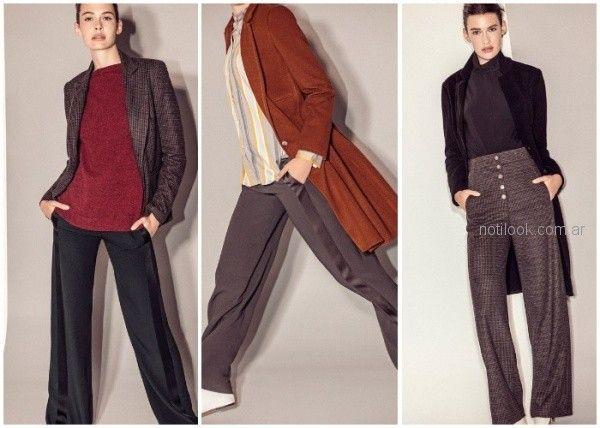 Graciela Naum u2013 Outfits para Oficina invierno 2018 u2013 Moda Mujer | Noticias de Moda Argentina