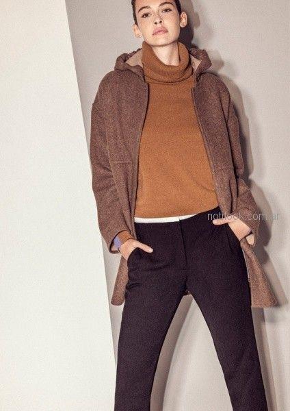 look oficina con polera - outfit oficina otoño invierno 2018 - Graciela Naum