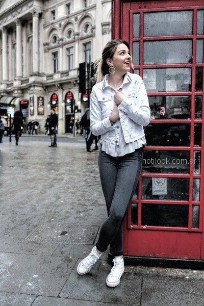 moda en denim Diosa Luna Jeans otoño invierno 2018