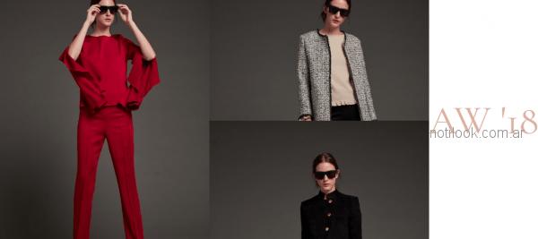 moda fromal para mujer Awada otoño invierno 2018