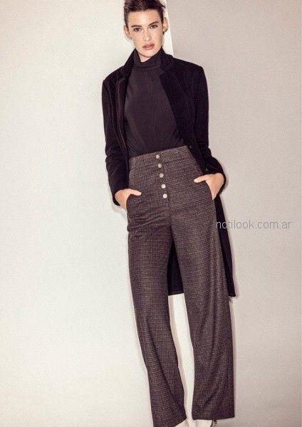 pantalon de vestir - outfit oficina otoño invierno 2018 - Graciela Naum